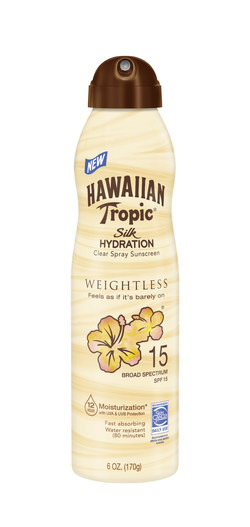Hawaiian Tropic® Silk Hydration Weightless C-Spray SPF 15