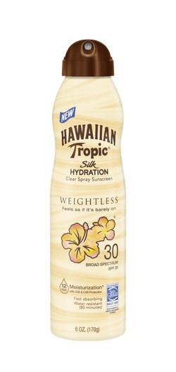 Hawaiian Tropic® Silk Hydration Weightless C-Spray SPF 30