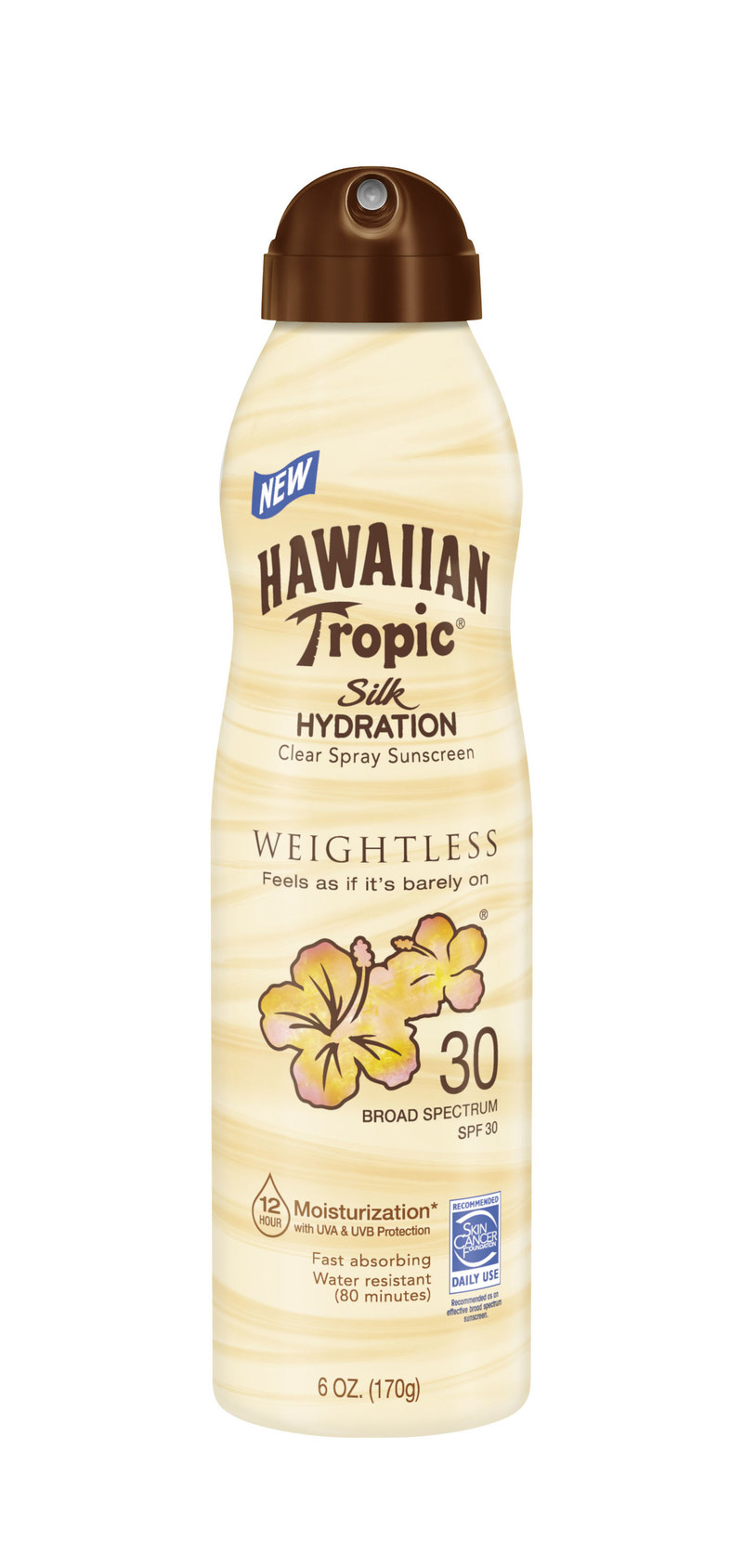Hawaiian Tropic® Silk Hydration Weightless C-Spray SPF 30
