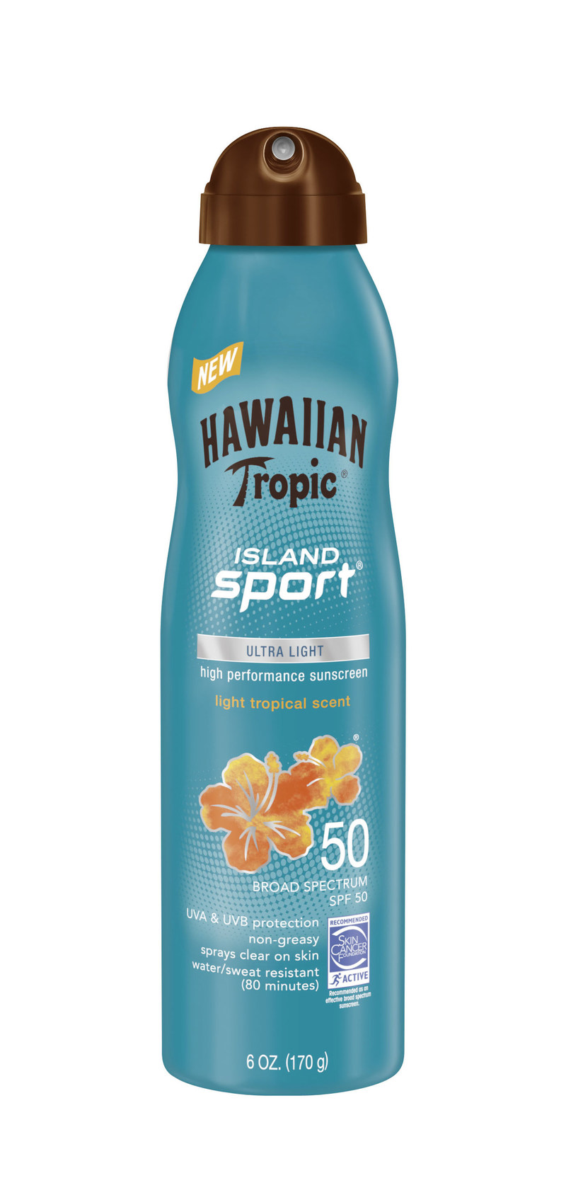 Hawaiian Tropic® Island Sport® C-Spray Sunscreen SPF 50