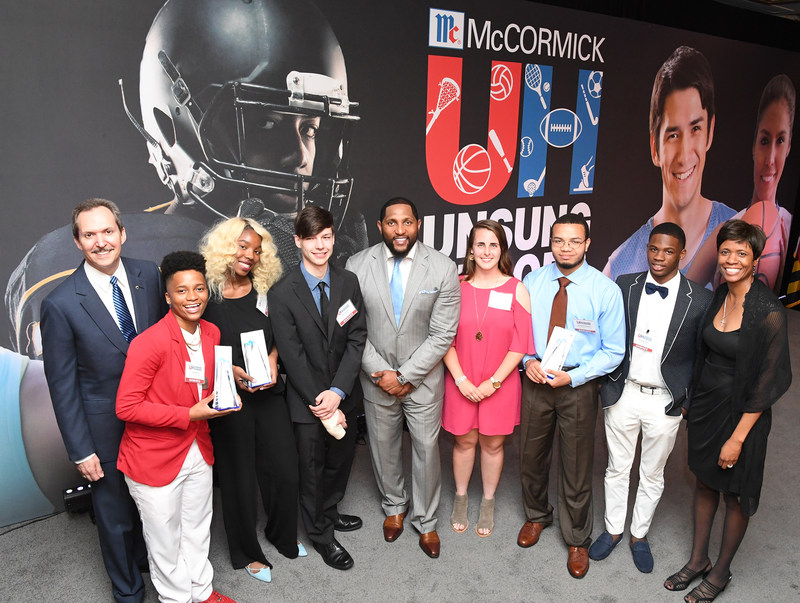 Lawrence Kurzius – Chairman, President and CEO of McCormick; Justist Rice, Janay Fenner, Sean Herrin, Ray Lewis, Elizabeth Schlerf, Marquise O'Neal II, Kyran Brandon, Lori Robinson – Vice President Corporate Branding, Communications and Community Relations