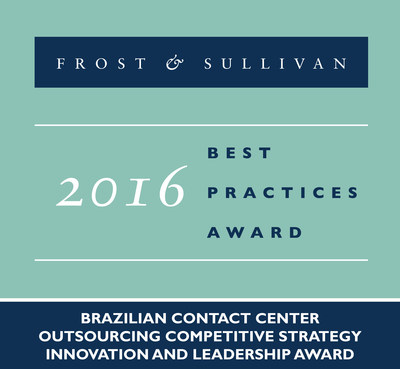 Frost & Sullivan recognizes Algar Tech with the 2016 Brazilian Competitive Strategy Innovation and Leadership Award