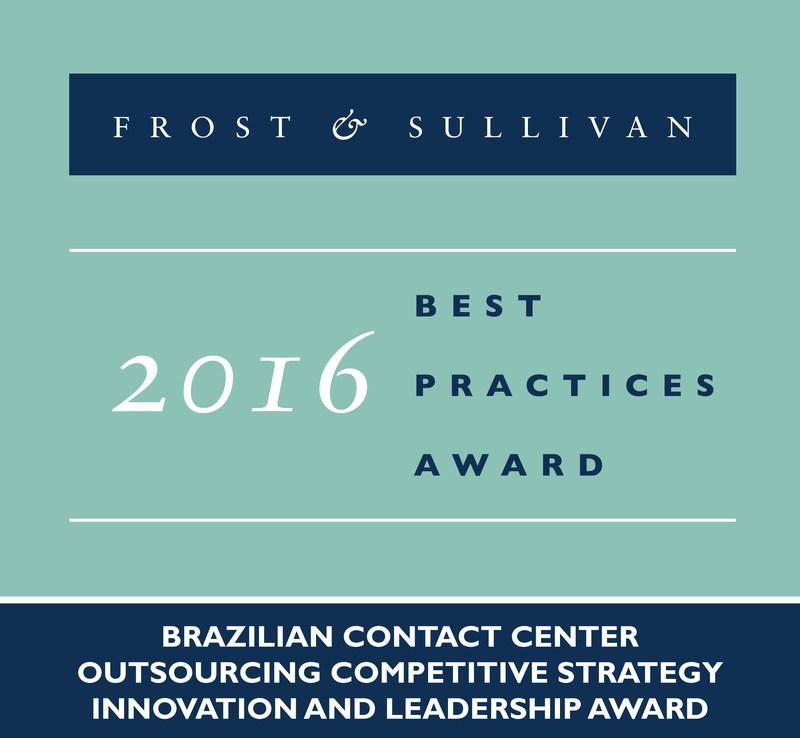 Frost & Sullivan recognizes Algar Tech with the 2016 Brazilian Competitive Strategy Innovation and Leadership Award.