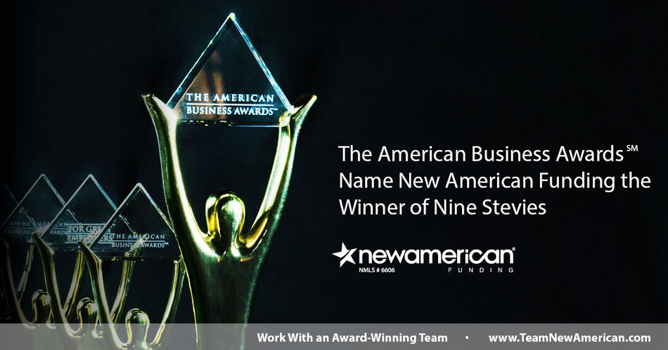 The American Business Awards℠ Name New American Funding Winner of Nine Stevies