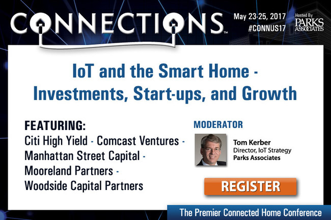 Parks Associates: IoT and the Smart Home - Investments, Start-ups, and Growth
