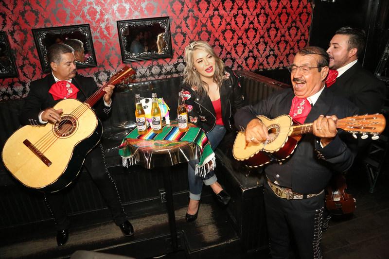 Chiquis Rivera joins Cerveza Estrella Jalisco for pre Cinco de Mayo celebration