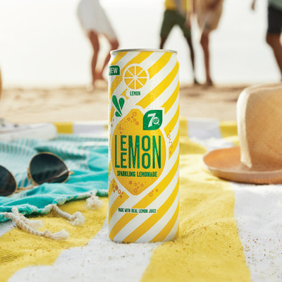 7UP Lemon Lemon, a new sparkling lemonade from PepsiCo offers a bubbly reminder to escape from your busy daily routine, to be outdoors, under the sun, in the open air. (CNW Group/PepsiCo Canada)