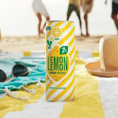 Voici 7UP Lemon Lemon, la nouvelle limonade pétillante de PepsiCo qui vous invite à vous évader de vos journées chargées pour prendre une pause à l'extérieur, sous les chauds rayons du soleil et au grand air. (Groupe CNW/PepsiCo Canada)