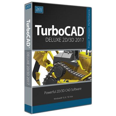 IMSI Design Releases TurboCAD Deluxe 2017