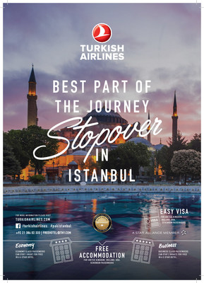 Best part of the journey; Stopover in Istanbul by Turkish Airlines (PRNewsfoto/Turkish Airlines)