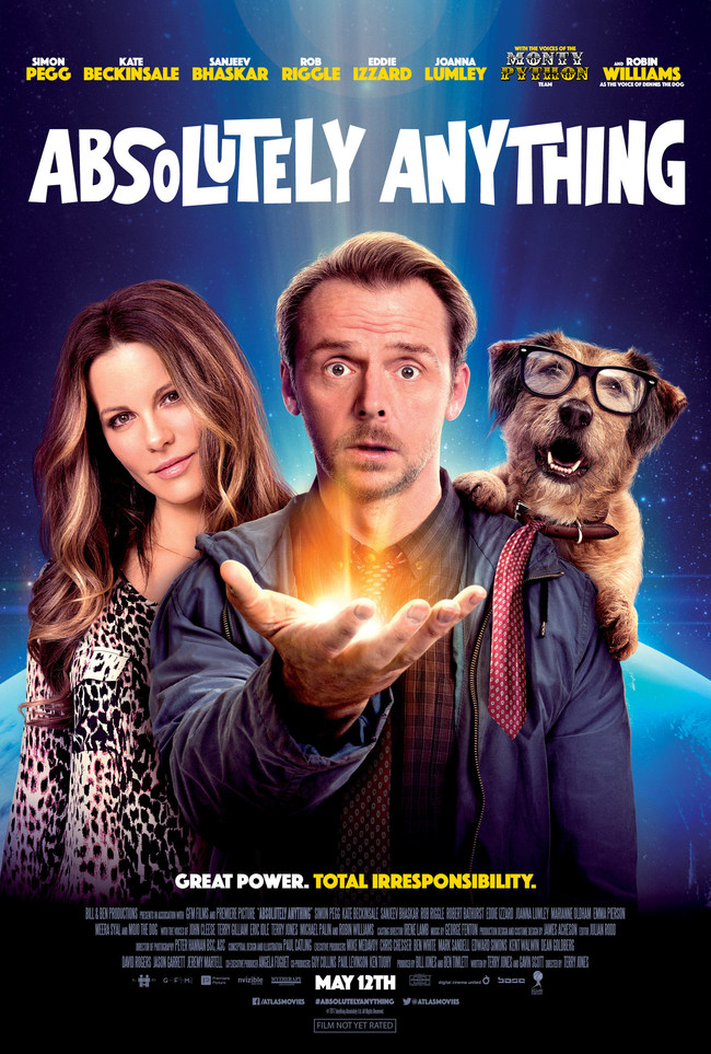 Official Absolutely Anything U.S. Theatrical Release Poster