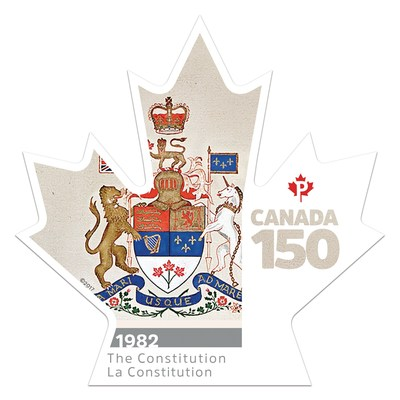 Canada 150 - The Constitution (CNW Group/Canada Post)