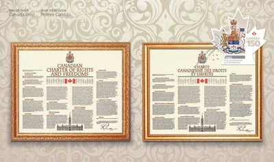 Front of Official First Day Cover (CNW Group/Canada Post)