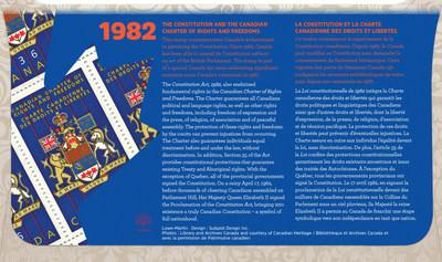 Couverture arrière du plis premier jour officiel (Groupe CNW/Postes Canada)