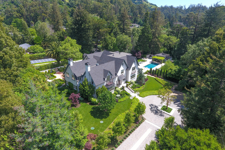 """Edgewood Estate: Home to a tycoon, a master-remodeler and the series """"13 Reasons Why"""", 120 Mountain View Avenue seeks discerning buyer."""
