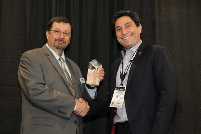 Sharp INTELLOS A-UGV Wins ISC West's SIA New Product Showcase Award in 'Law Enforcement/Guarding Systems'