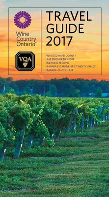 Wine Country Ontario and VQA Wines of Ontario Travel Guide 2017 Cover (CNW Group/Wine Marketing Association of Ontario)