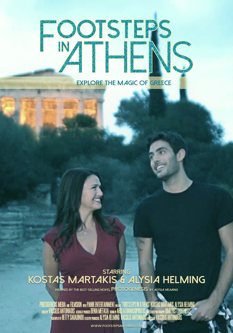 """""""Footsteps in Athens"""" Short Films Series inspired by the best-selling novel """"Protogenesis"""" invites viewers to explore the magic of Greece! Now available on www.footstepsinathens.com"""