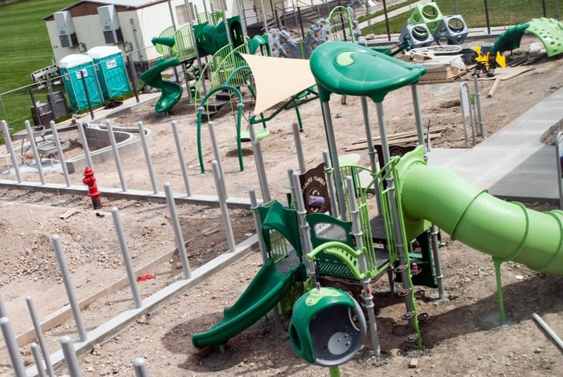 doTERRA funded the construction of two specialized playgrounds at the UVU Autism Center in Orem, Utah.