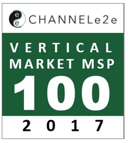 CHANNELe2e Vertical Market MSP 100 2017