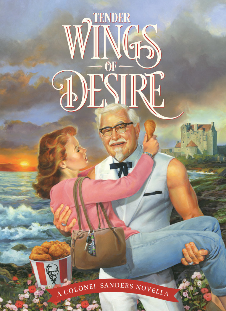 """KFC is giving moms the ultimate Mother's Day gift with its first romance novella, """"Tender Wings of Desire."""""""