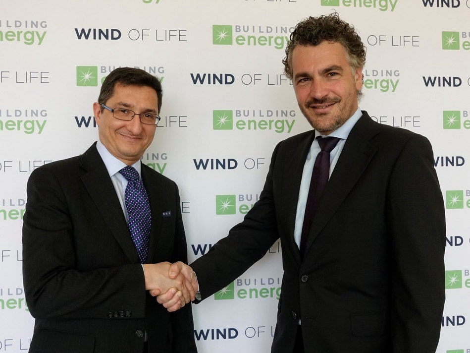 Building Energy Iowa wind farm inauguration