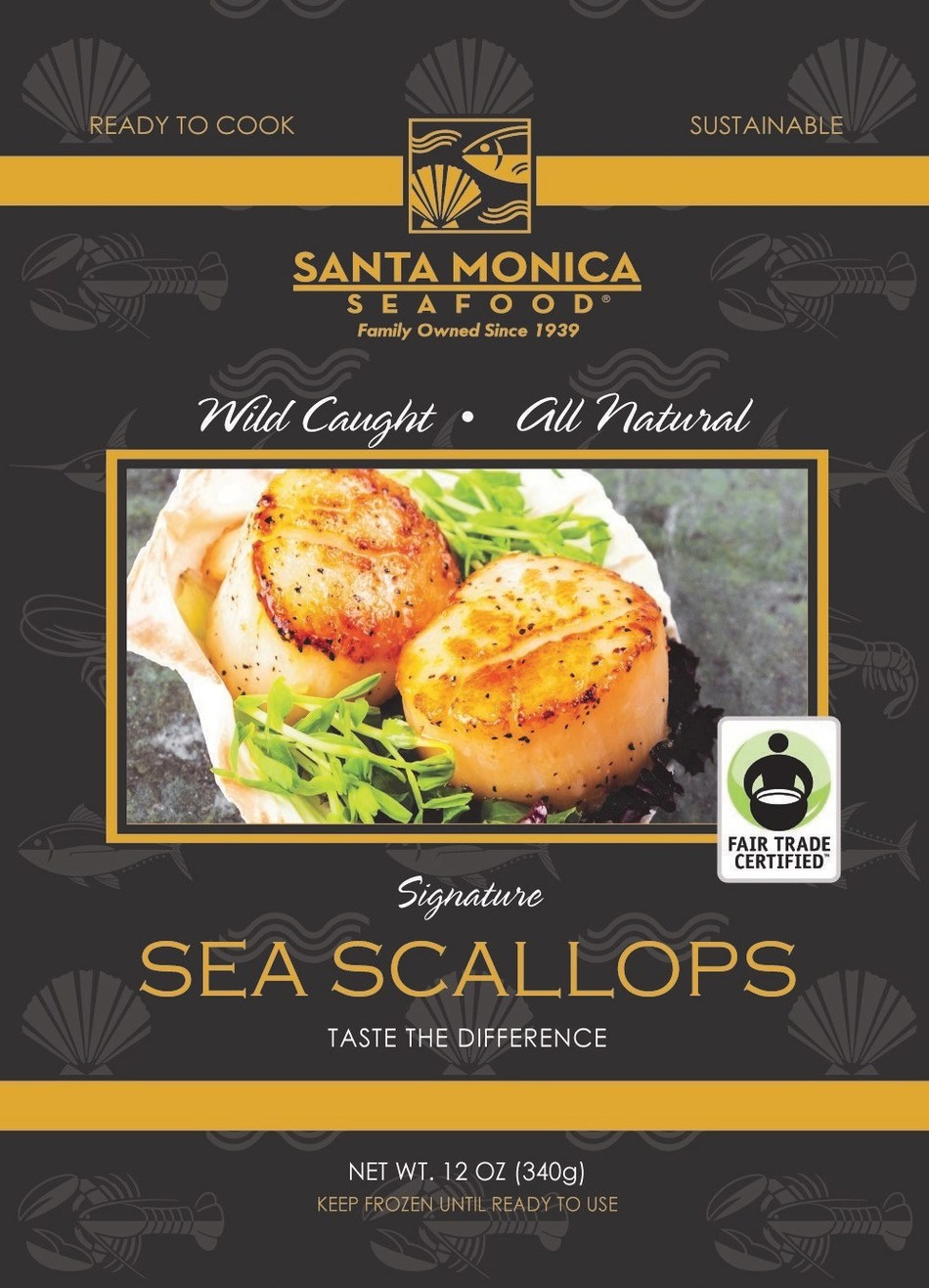 Fair Trade scallops are available at Southern California Albertsons, Vons and Pavilions stores and will available this summer at Northern California Safeway stores.