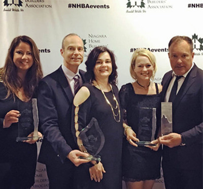 Lucchetta Homes Wins Four Awards Including Prestigious Builder Of The Year (CNW Group/Lucchetta Homes)
