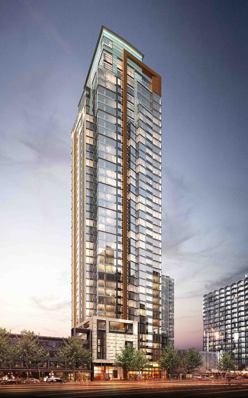 New project in downtown Seattle to be renamed and rebranded as Arrivé.