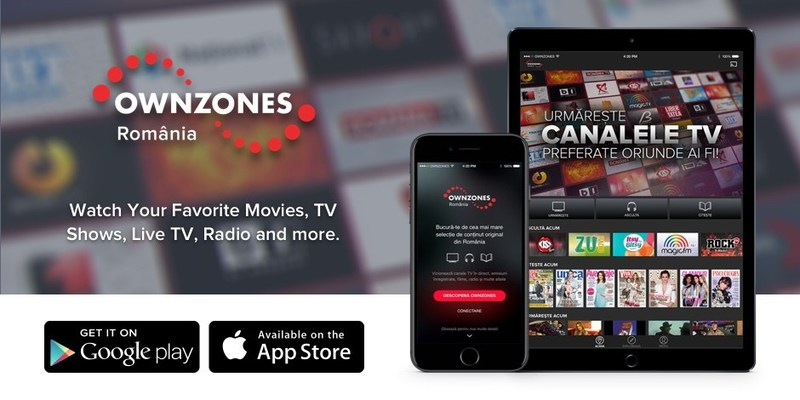 The newly launched OWNZONES Romanian Portfolio app offers the largest lineup of Romanian content accessible from one destination.