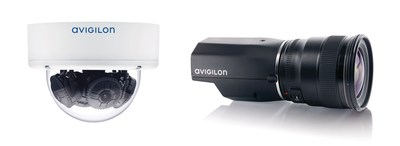 Figure 1. Avigilon HD Multisensor and HD Pro cameras (CNW Group/Avigilon Corporation)