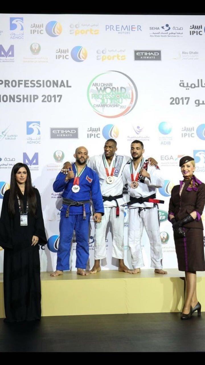 RB Care Homes Sponsors Lucio Santos at the Abu Dhabi World Professional Jiu Jitsu Championship (PRNewsfoto/RB Care Homes)