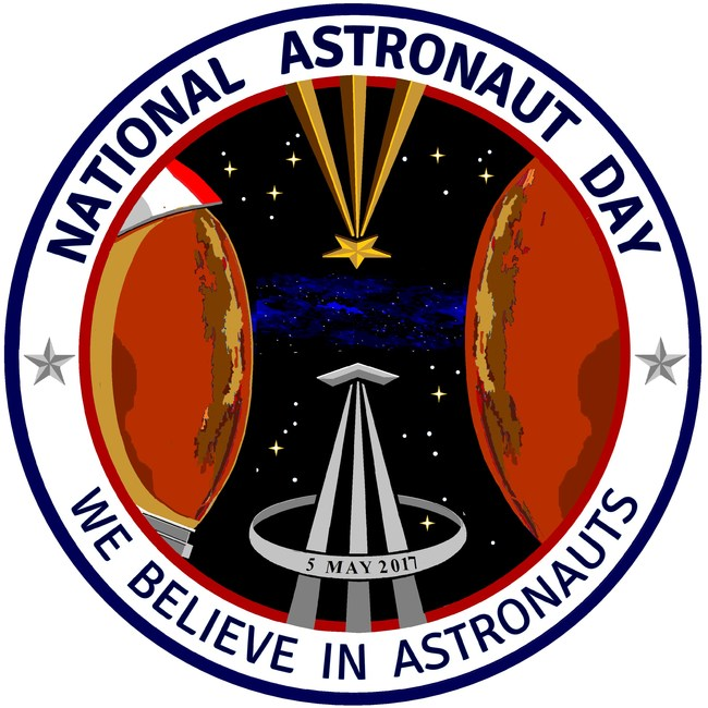 "National Astronaut Day 2017 ""Official"" Crew Patch"