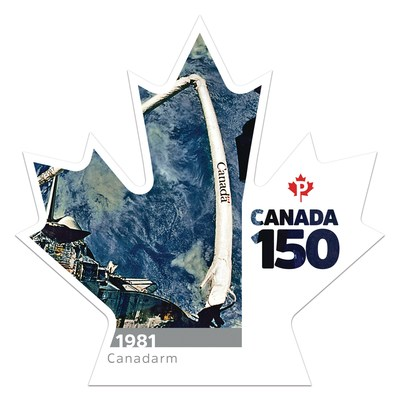 Canada 150 - Canadarm (Groupe CNW/Postes Canada)