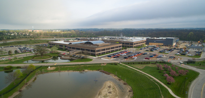 The TMNA R&D campus supports the One Toyota commitment to the environment through sustainable, environmentally-sensitive and state-of-the-art design, materials, features and efficiencies like low flow faucets for water conservation.