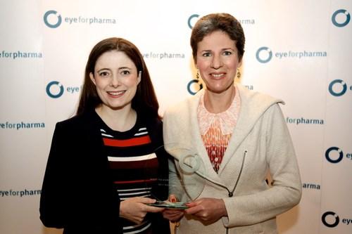 Susan Bartlett, Bridgeable (left) and Elizabeth Turcotte, Bristol Myers Squibb (CNW Group/Bridgeable)