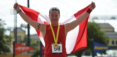 Mme Natacha Dupuis, co-capitaine d'Équipe Canada pour les Jeux Invictus 2017 qui se tiendront à Toronto (Groupe CNW/Légion royale canadienne)