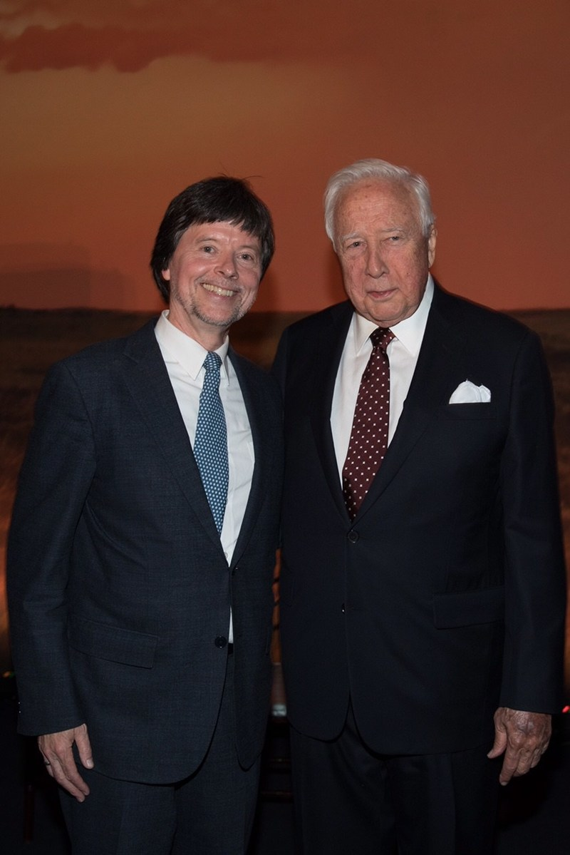 American Prairie Reserve honored Ken Burns and David McCullough Wednesday evening in New York City at the Ken Burns American Heritage Prize Presentation Event.