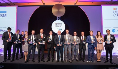 The Winners of the European Business Awards 2016/17 (PRNewsfoto/European Business Awards)