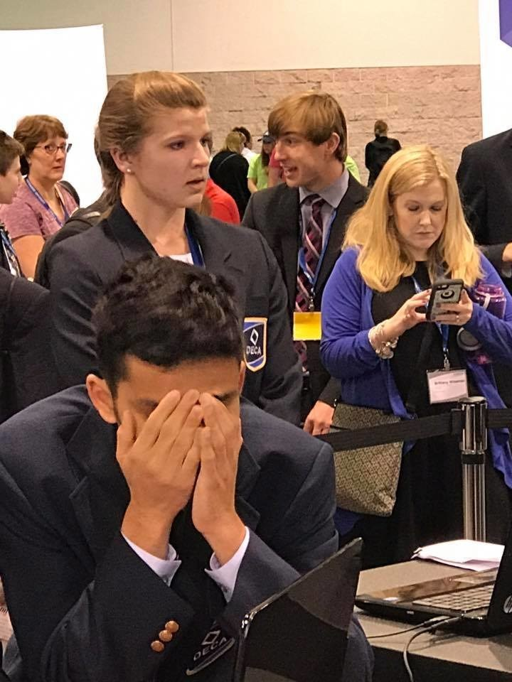More than 41,000 high school students competed in the DECA Virtual Business Challenge - working hard to build the most successful virtual business.