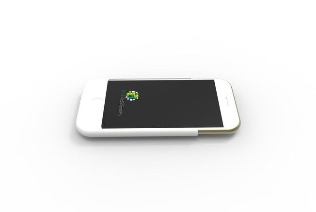 RAM Inside - Smartphone slim case with built-in FULL BODY bio-authentication with NFC based Android unlock