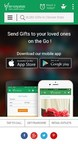 Ferns N Petals iOS App (PRNewsfoto/Ferns N Petals Pvt Ltd)