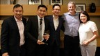 James Houng, Fusionex Senior VP, Solutions Development (second from left) with the AWS Team