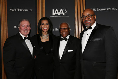From left to right: Jim Clerkin, Fredricka Whitfield, Herbert P. Douglas Jr., and Rodney Williams