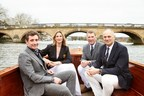 From L to R: Nick English (Co founder, Bremont), Sarah Winckless, Matthew Pinsent, Steve Redgrave. (PRNewsfoto/Bremont Watch Company)
