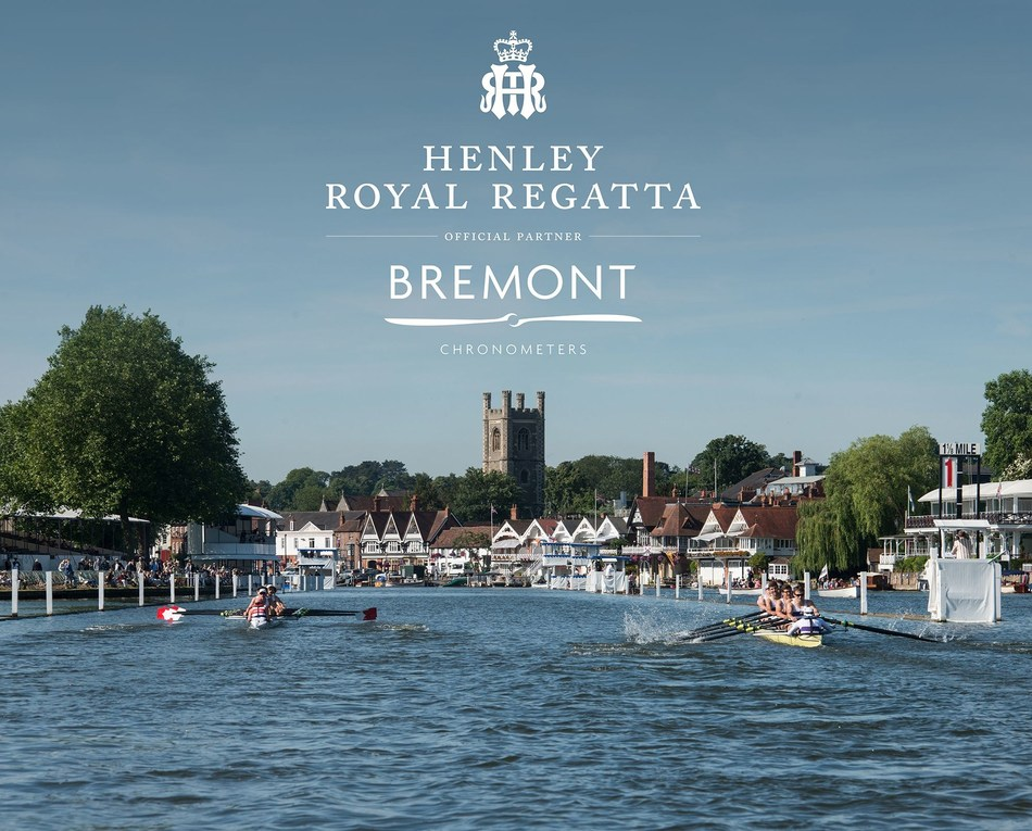 Bremont Named as First Ever Timing Partner to Henley Royal Regatta. (PRNewsfoto/Bremont Watch Company)