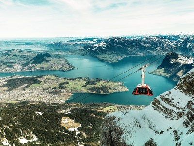 Mt. Pilatus, Switzerland. (Copyright by Pilatus-Bahnen AG By-line: swiss-image.ch/Urs Wyss)