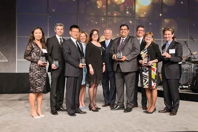 The Leaders Circle Ambassadors who were honoured at the 2nd Annual Leaders Circle Recognition Gala May 4th, 2017. (CNW Group/Leaders Circle)