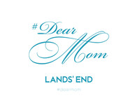 From now until May 10, follow daily prompts to share a Mother's Day message, motherhood moments, photos or videos on Instagram and/or Twitter using #DearMom, #sweepstakes and #mylandsend for a daily chance to win a $100 Lands' End gift card. Winners will be chosen at random and participants are encouraged to enter daily, because Mom can never hear enough how much she's adored.