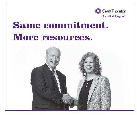 Grant Thornton LLP, Vancouver Island, welcomes LL Brougham Inc. as the firm continues to grow in western Canada. Led by respected sole practitioner Lindalee Brougham, LL Brougham has served Vancouver Island clients for 17 years. (CNW Group/Grant Thornton LLP)